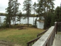 Brown Bear lake outpost cabin 1