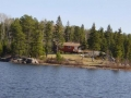 Brown Bear Lake outpost cabin 1